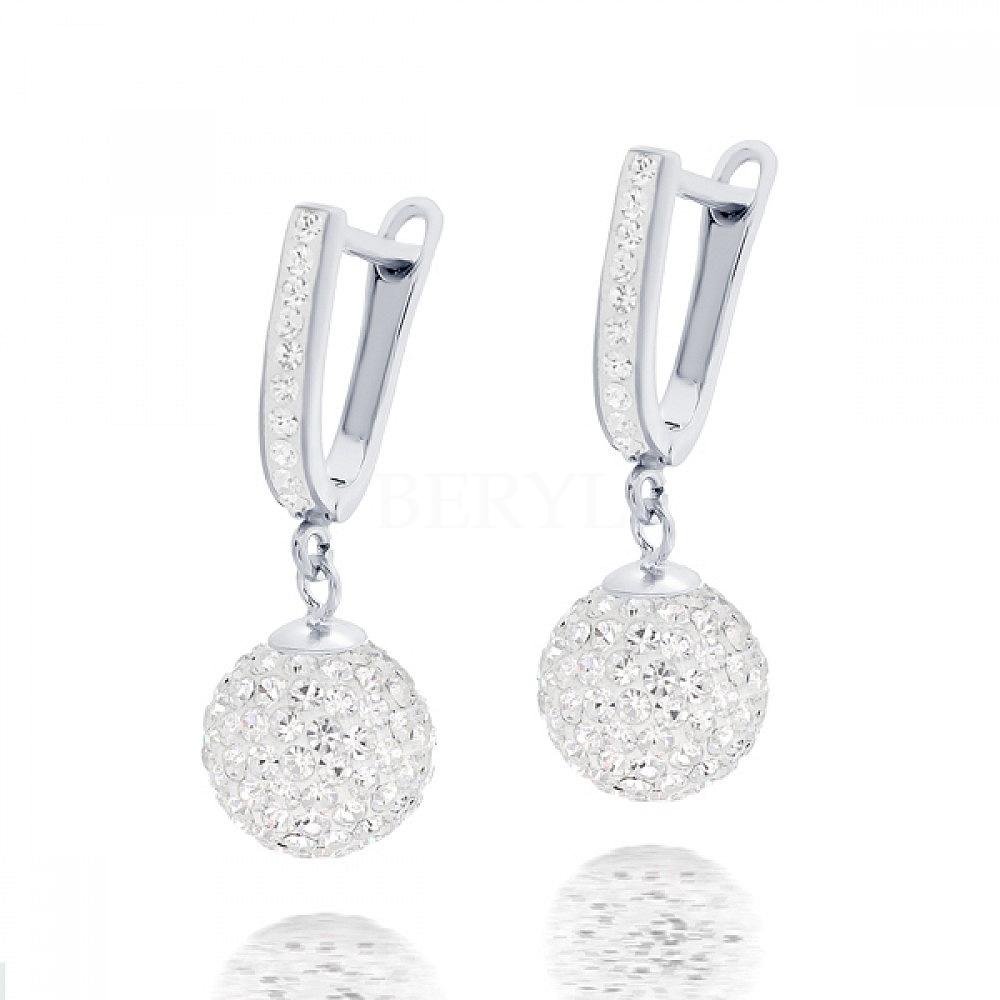 Kolczyki Crystal Beads Swarovski BERYL