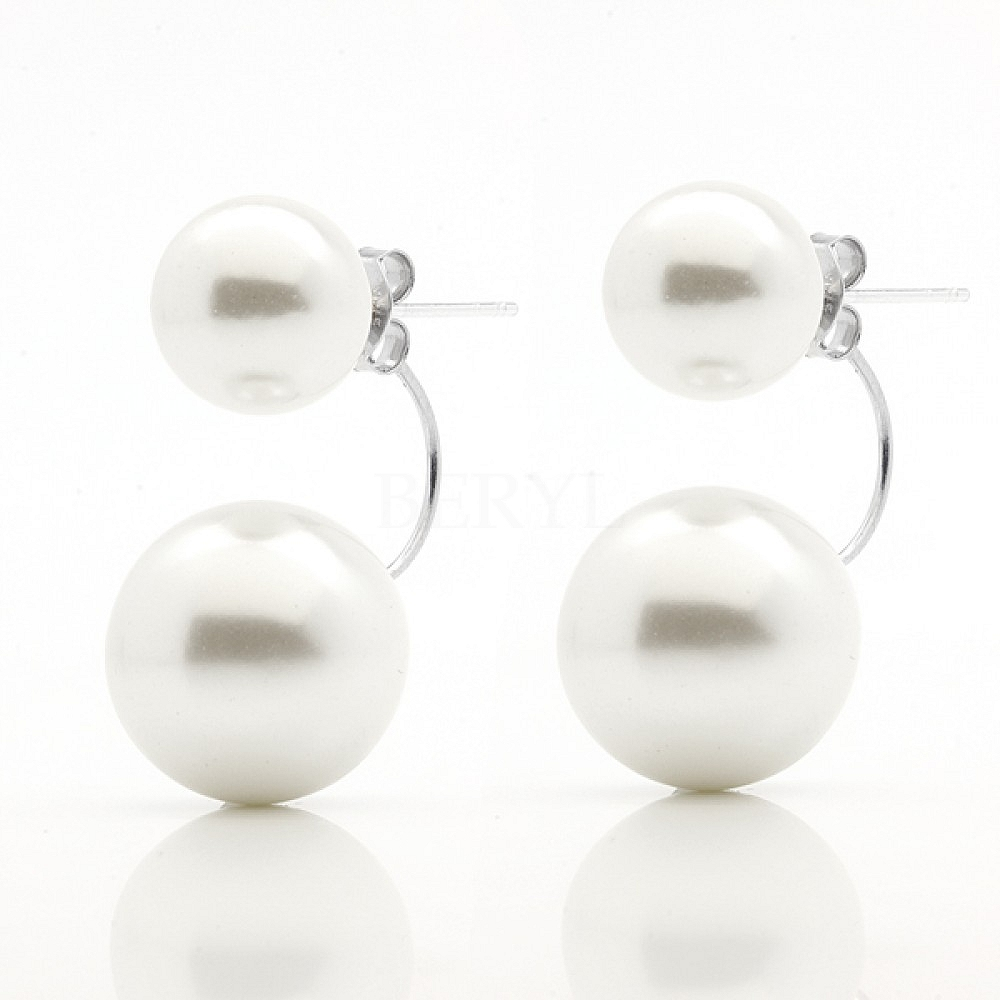 kolczyki perła