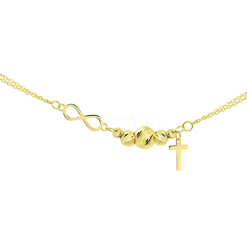 Bransoletka Złoto 585