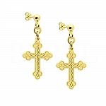 Kolczyki Krzyże Srebro 925