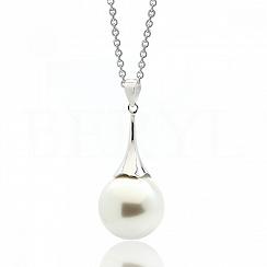 Zawieszka z perłą srebrna