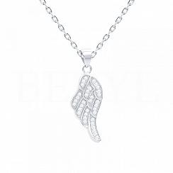 Zawieszka srebrna małe skrzydło