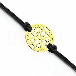 Bransoletka na sznurku Srebro 925