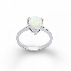 Pierścionek Opal Srebro 925