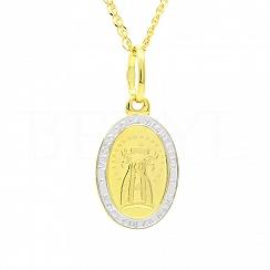 Medalik Złoto 585