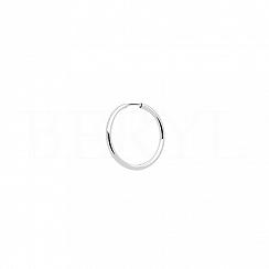 Kolczyk kółeczko srebrny 12 mm