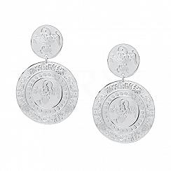 Kolczyki Monety Srebro 925