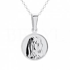 Zawieszka Medalik Srebro 925