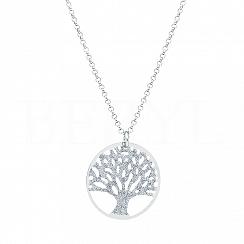 Naszyjnik Drzewo Życia srebro 925