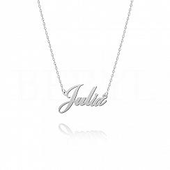 Naszyjnik z imieniem JULIA srebrny