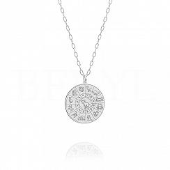 Znak zodiaku baran naszyjnik srebrny