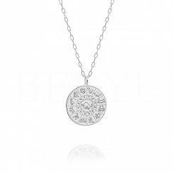 Znak zodiaku byk naszyjnik srebrny