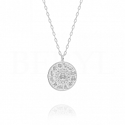 Znak zodiaku rak naszyjnik srebrny