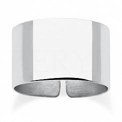 Pierścionek regulowany srebrny obrączka szeroka