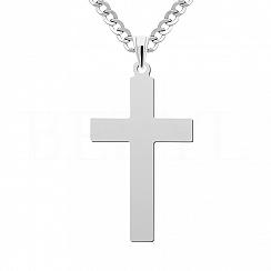 Zawieszka Krzyż Srebro 925